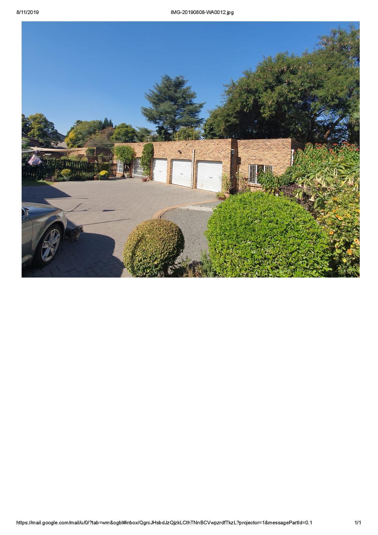 3 Bedroom House To Rent in Marais Steyn Park