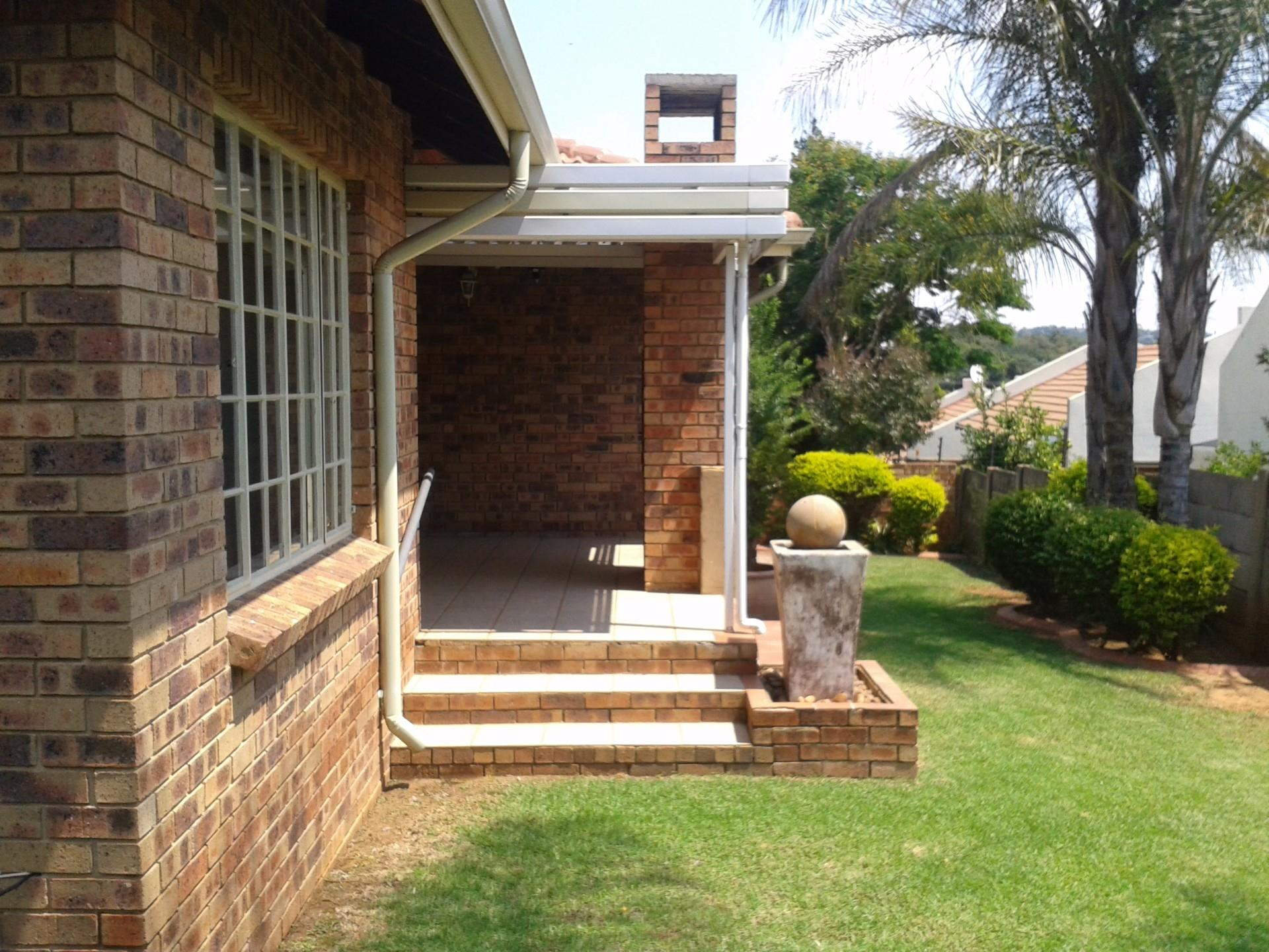 Pretoria, Erasmuskloof Property  | Houses To Rent Erasmuskloof, Erasmuskloof, Sectional Title 3 bedrooms property to rent Price:, 12,00*