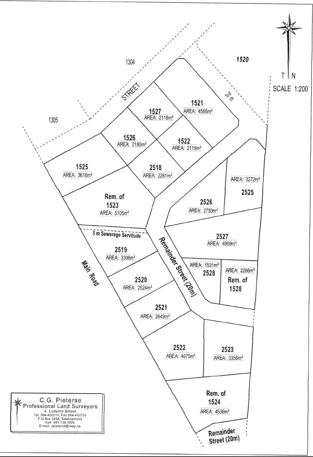 Vacant Land / Plot in Arandis For Sale