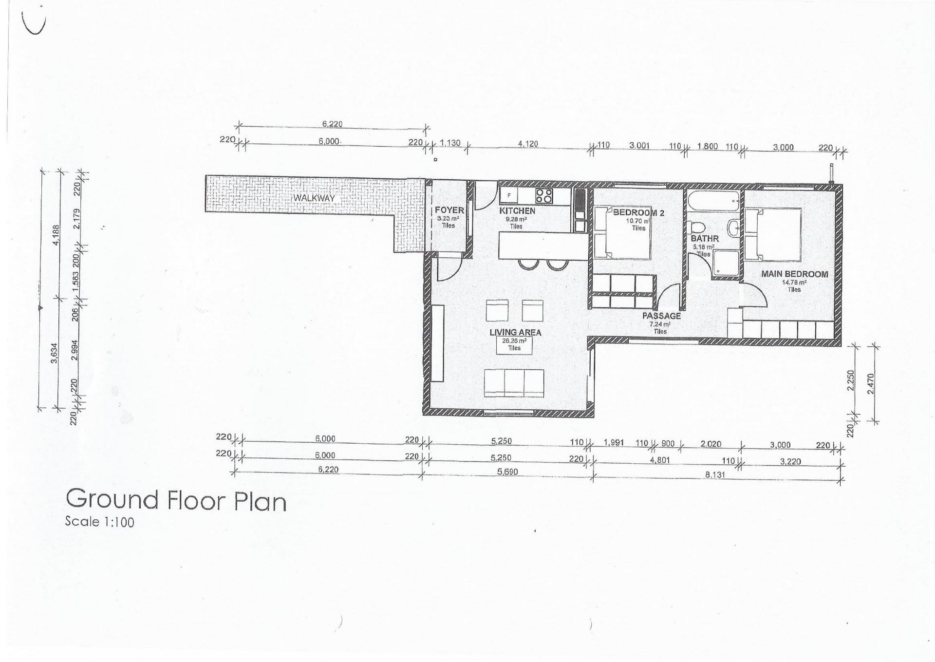 2 Bedroom House For Sale in Okahandja Central