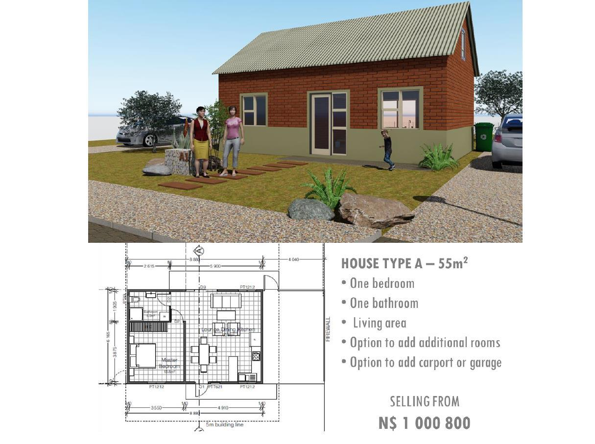 3 Bedroom Town house For Sale in Brakwater