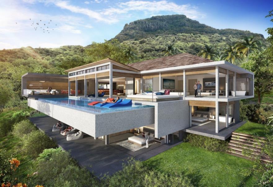 Villa in Tamarin For Sale