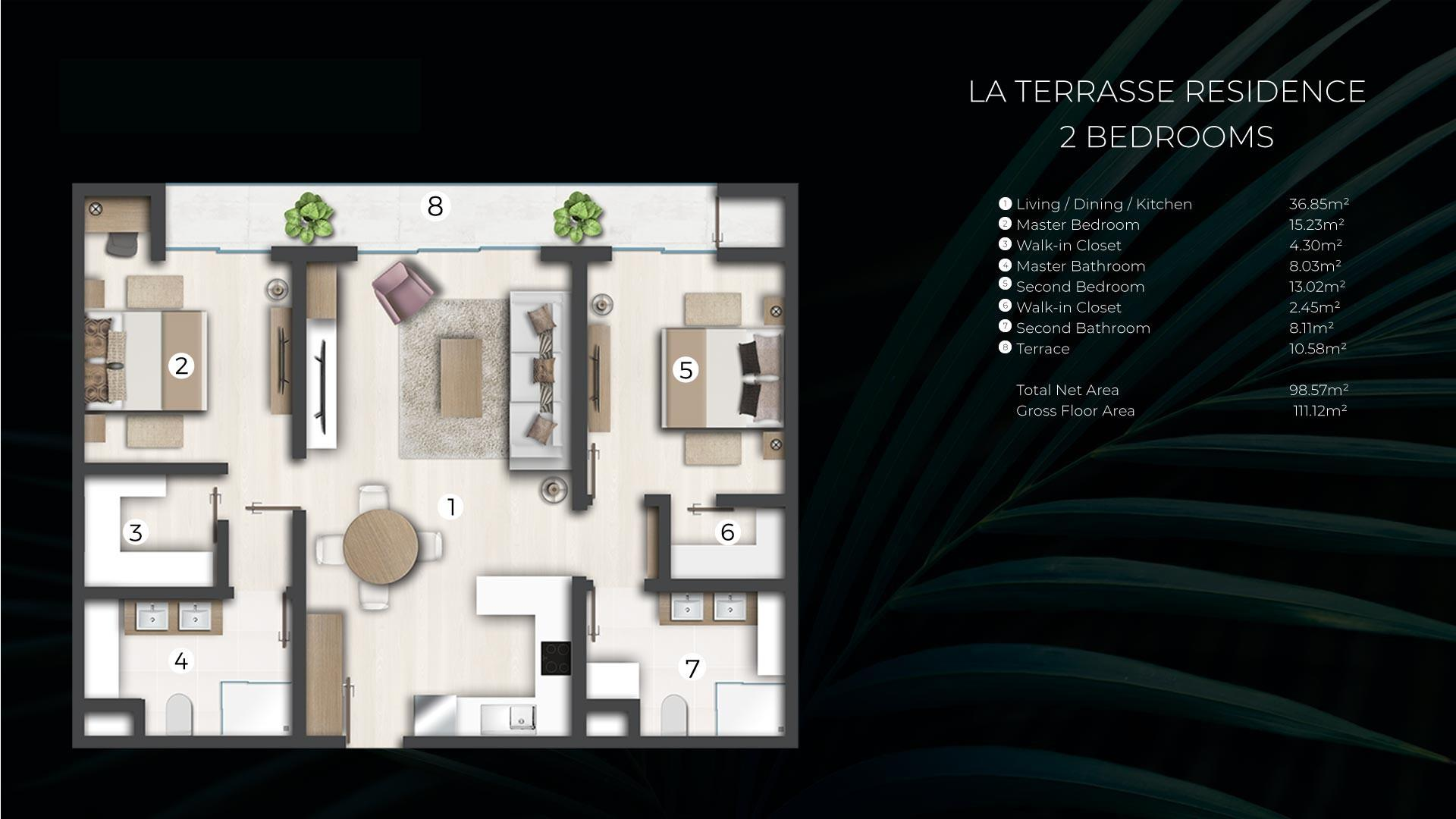 2 Bedroom Apartment / Flat For Sale in Cap Malheureux